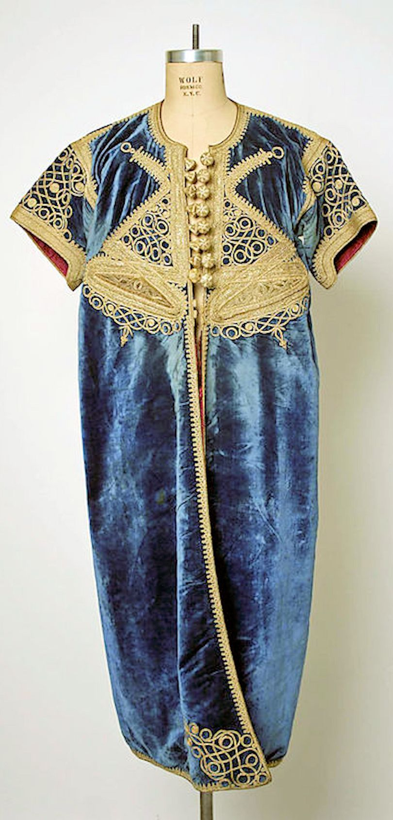 19th Century Moroccan Silk Dress - Metropolitan Museum