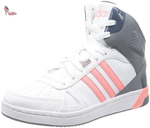 Baskets Team 39 13 Adidas Hoops Femme W Taille Pour Blanc Mid xOTIPq1