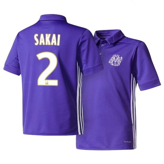 Maillot THIRD Olympique de Marseille Hiroki SAKAI