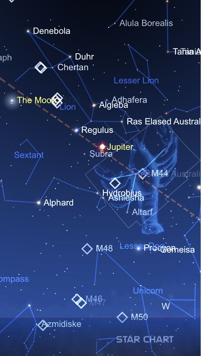 I Wanted To Share This Beautiful Image From Star Chart With You