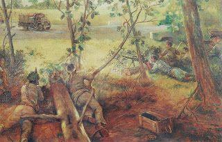 Lukisan Sejarah Perjuangan Indonesia   Saiin  西院