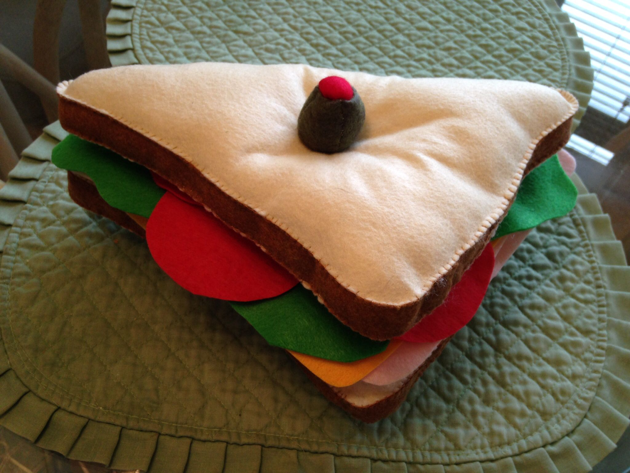 Tf2 Sandvich Plushie Made For Tristans Birthday