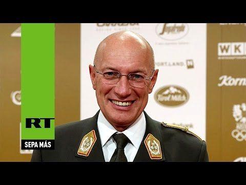 """Máximo jefe militar de Austria dispuesto a colaborar con Rusia """"pese a l..."""