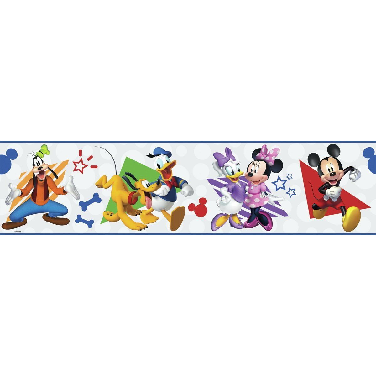 Mickey Mouse And Friends Peel And Stick Wallpaper Border Mickey Mouse And Friends Peel And Stick Wallpaper Mickey And Friends