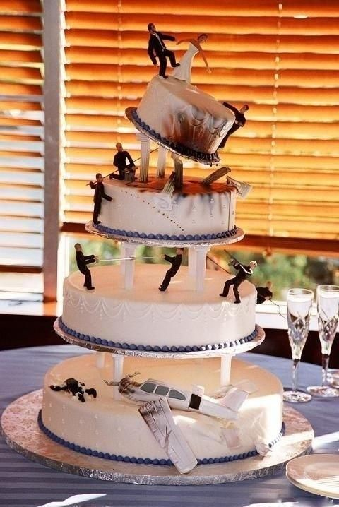 Hochzeit torten essen