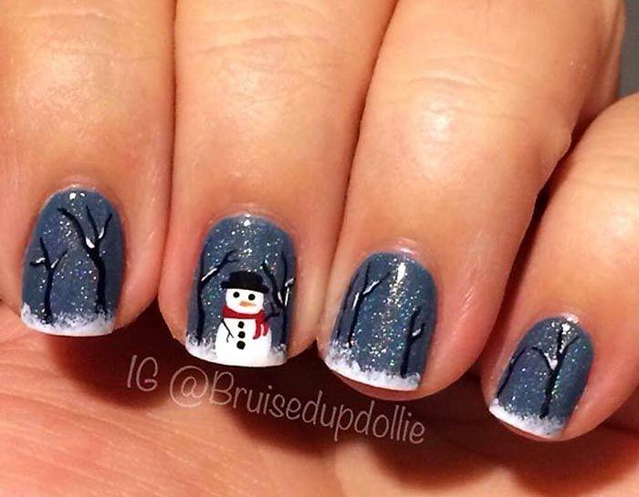 Christmas #Nailart Get the Look at Polished Nail Bar Milwaukee and ...
