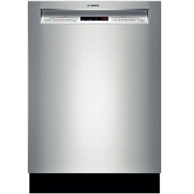 Bosch She65t55uc Built In Dishwasher Stainless Dishwasher