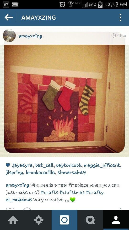Construction paper fireplace | Christmas on a budget, Christmas wonderland, Rental decorating
