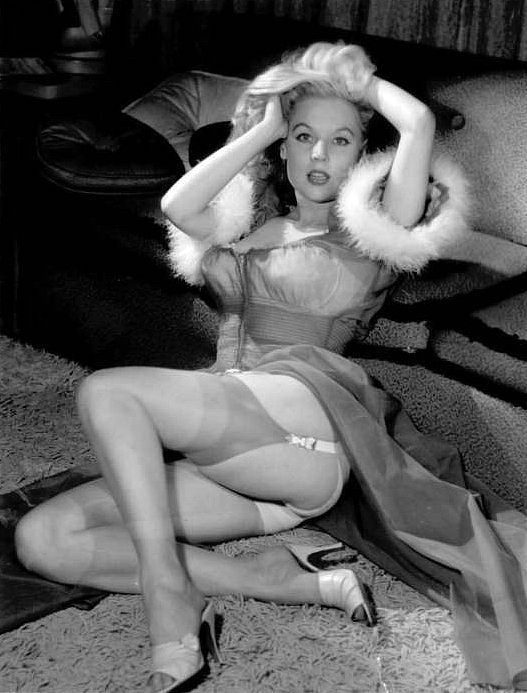 Betty Brosmer.