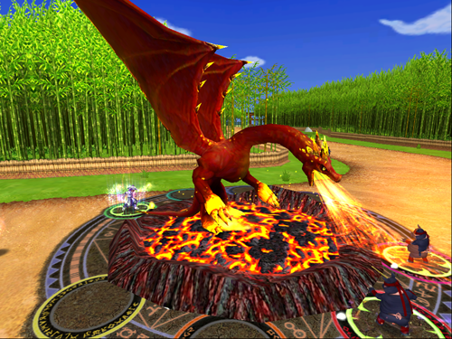 Wizard101 Fire Dragon | Savoir of the Spiral | Cheap pets