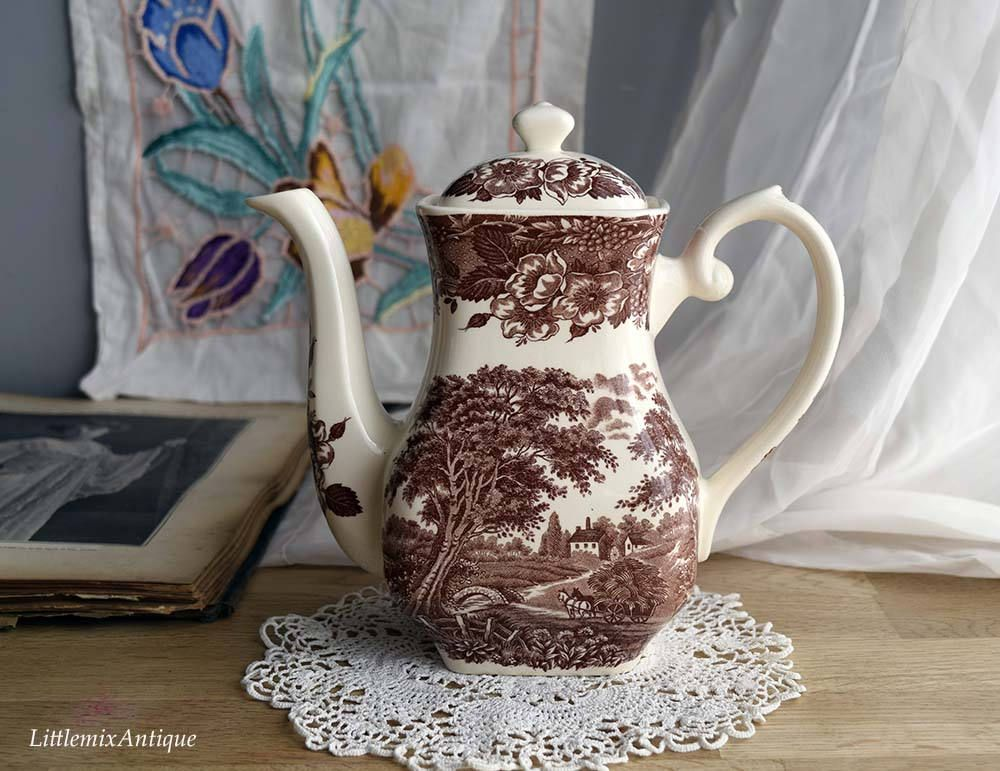 Vintage Made By English Ironstone Tableware Limited Staffordshire ...