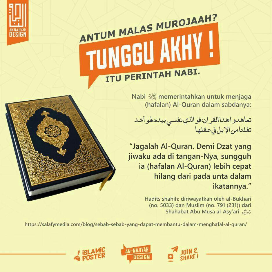 Pin Oleh Salsabila Ummu Fawwaz Di An Najiyah Kutipan Hidup Quran Hafalan