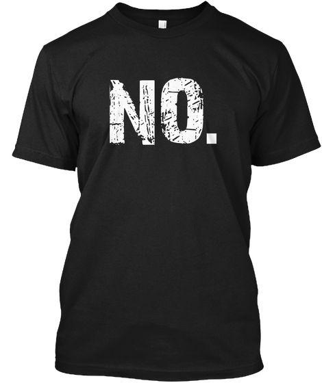 No Expressive T Shirt