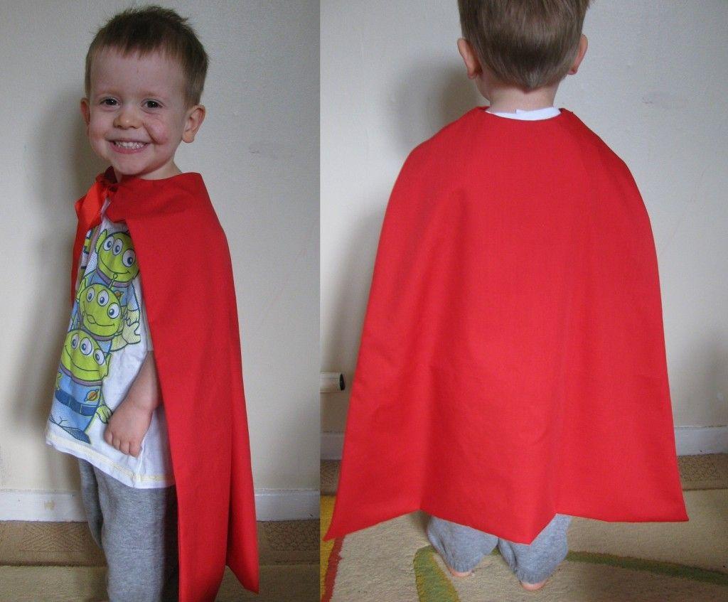 how to make a kids cape