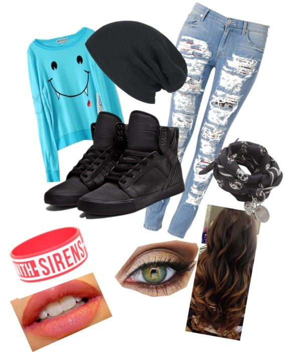 """""""acasual"""" by mabbits-rabbit ❤ liked on Polyvore"""
