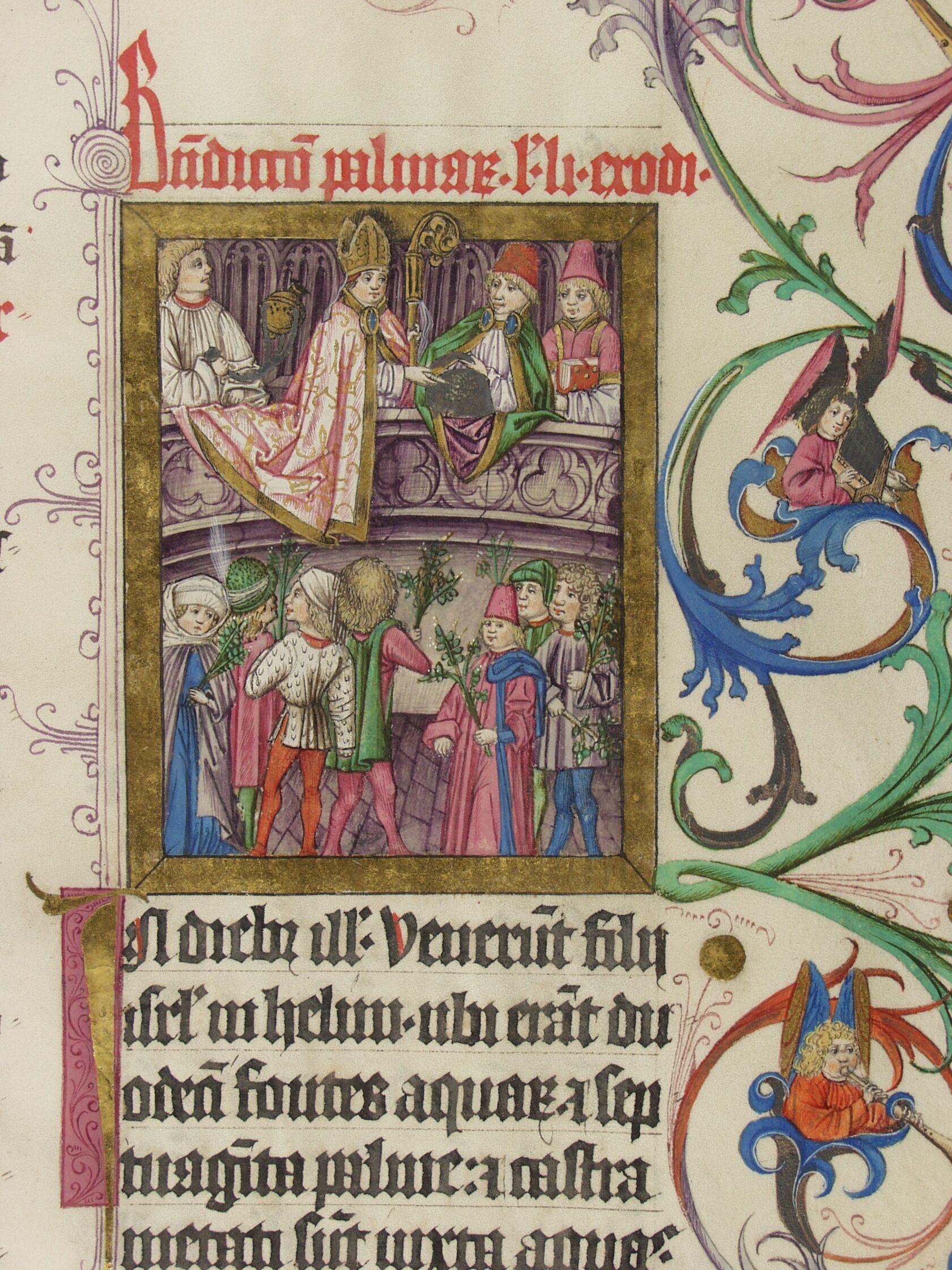Pontifikale Adolfs Ii Erzbischof Von Mainz Vor 1474 Meister Der Gauklerszene Im Hausbuch Blatt149r Antikes Buch Bucher Erzbischof
