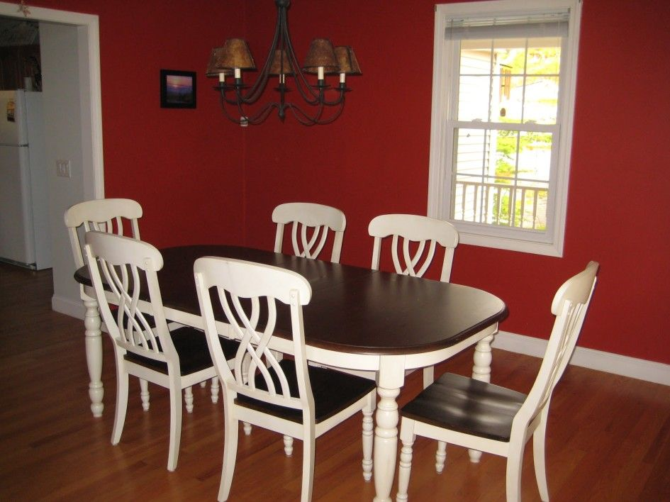 Dining Room Cute Dining Room Decor Ideas With Red Wall And Prepossessing Cute Dining Room Tables Decorating Design