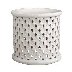 Superbe Explore White Wisteria, Ceramic Stool And More!