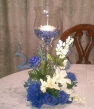 Resultado De Imagen Para Centro De Mesa Con Flores Naturales Para 15 Anos Floral Centerpieces Diy Centerpieces Candle Centerpieces