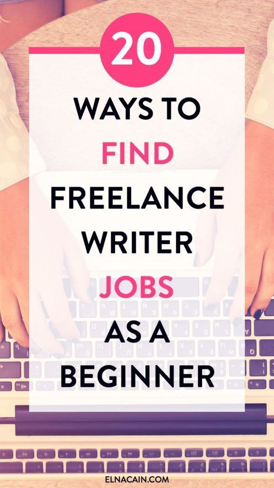 Resume Writing Jobs 20 Ways To Find Freelance Writing Jobs As A Beginner  Pinterest .