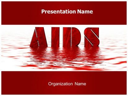Get this free aids powerpoint template with different slides get free aids powerpoint template and make a professional looking powerpoint presentation in aids powerpoint template ppt template edit text and slides toneelgroepblik Images
