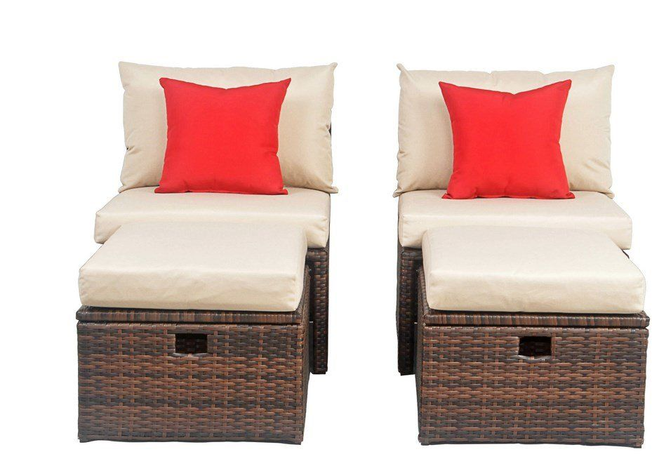 Buchholtz Patio Chair With Cushions Outdoor Furniture