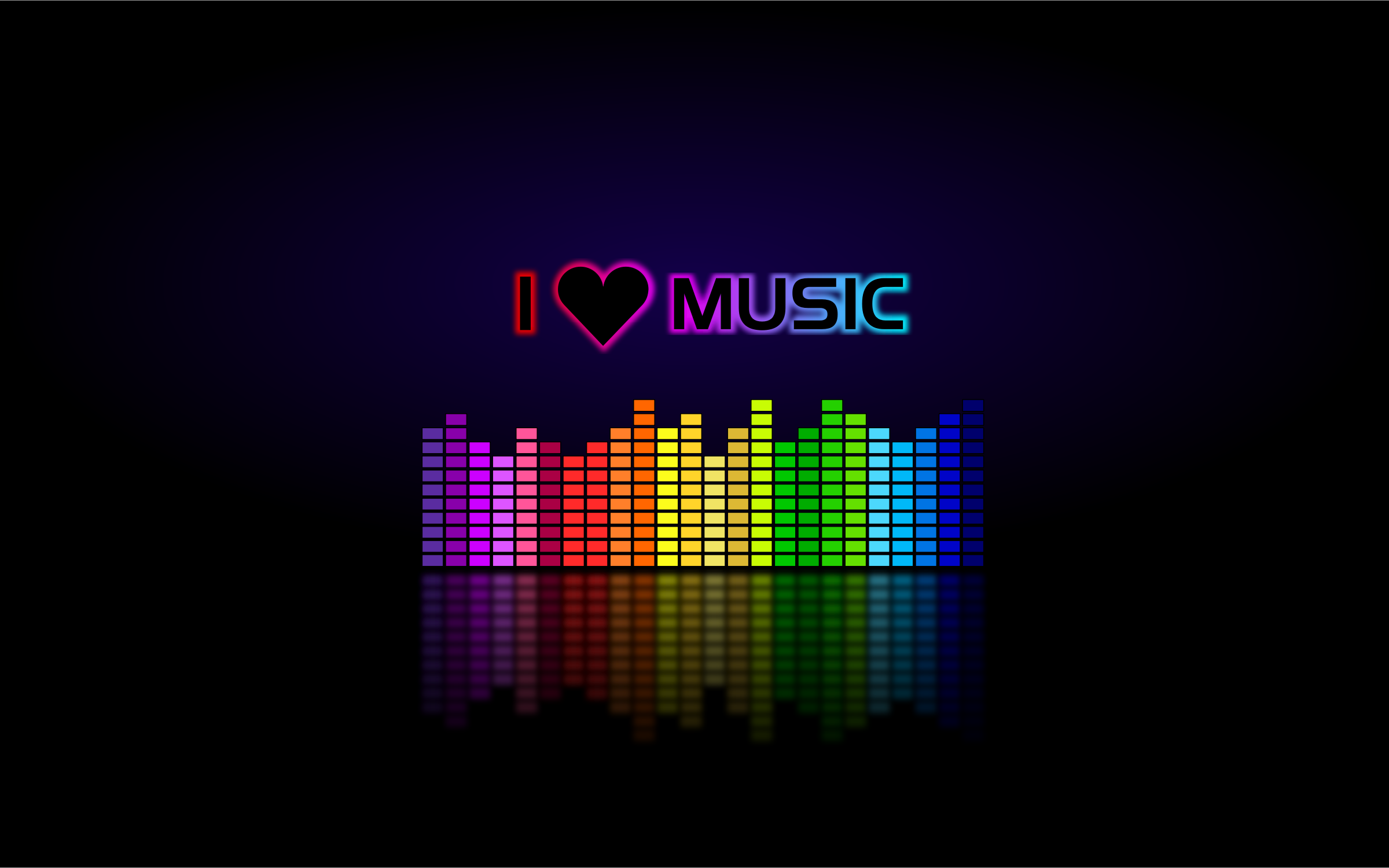 Love Music Colorful Black Wallpaper Images Hd Free 2392202 Music Wallpaper Music Backgrounds Best Workout Songs