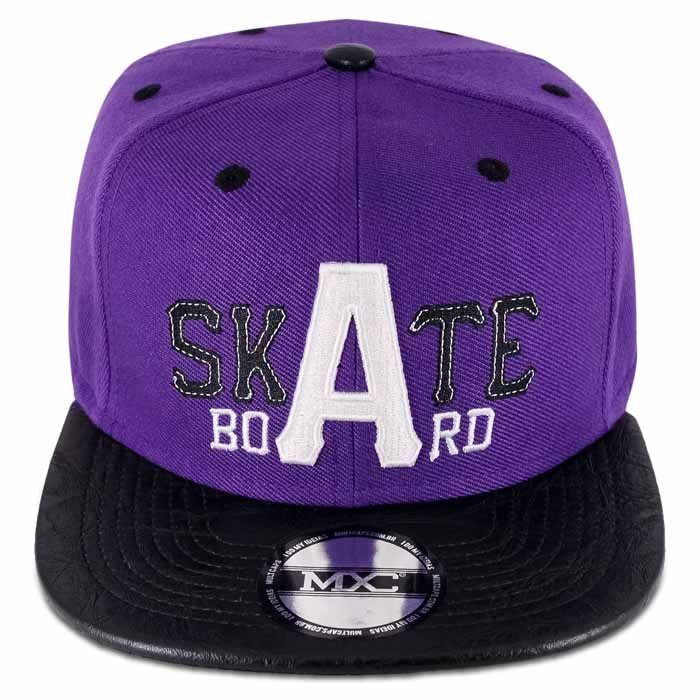 Boné Multcaps MXC - Skate Purple Original l Multcaps  c5783325c0f