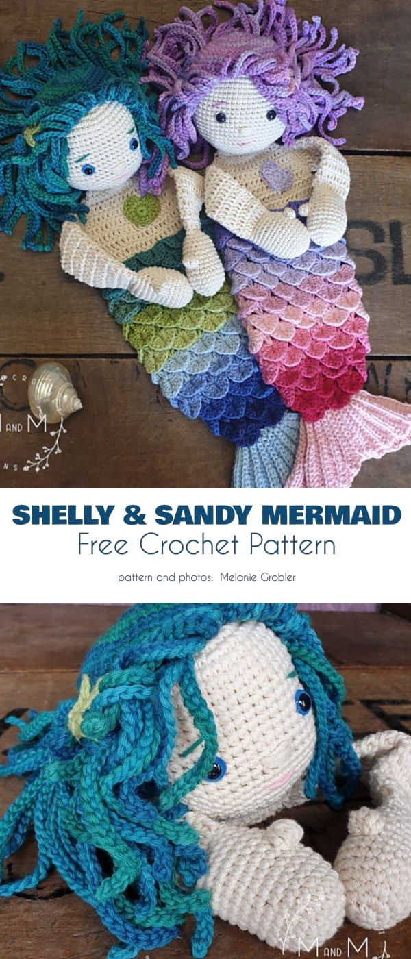Amigurumi Mermaid Free Patterns