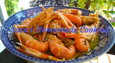 Photo of tasa's Homemade Cooking: Fried crayfish with mustard …