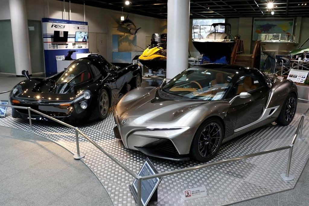 ヤマハの幻のスーパーカーと未来のスポーツカーが揃い踏み - SankeiBiz(サンケイビズ)