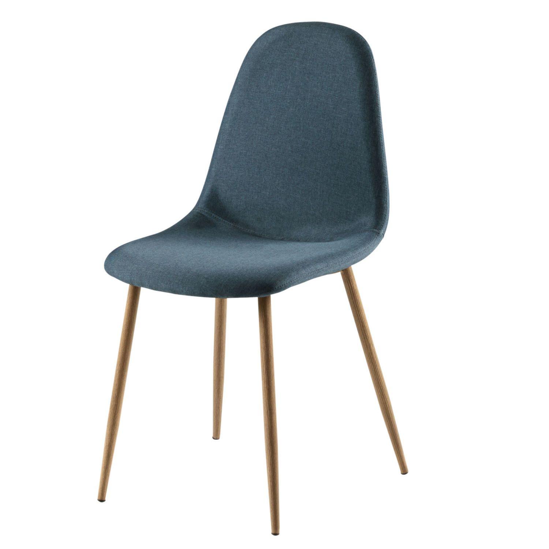 Chaise Style Scandinave Bleu Jean Maisons Du Monde Sedie Scandinavo Blu