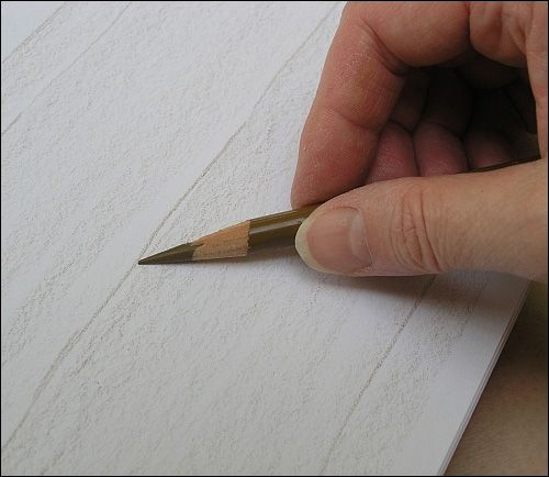 How To Draw Realistic Wood Grain Details With Colored Pencils