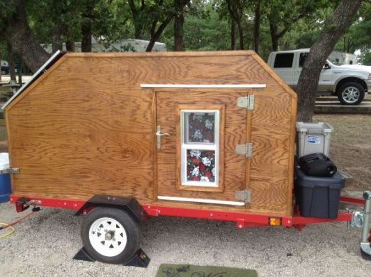 how to build a teardrop camper cheap