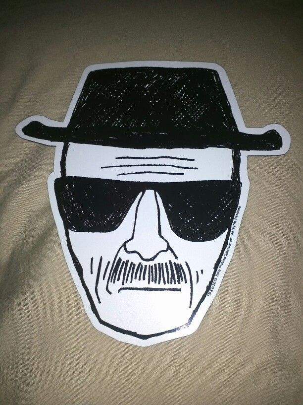 My New Heisenberg Car Sticker Breakingbad Breaking Bad