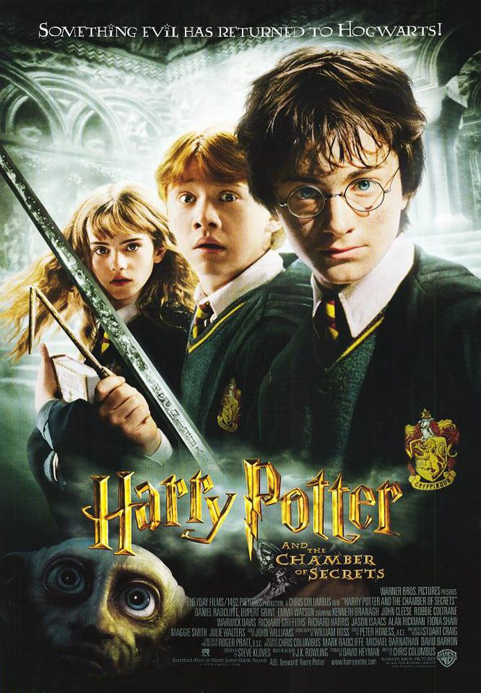 Harry Potter y la cámara secreta (2002), de Chris Columbus