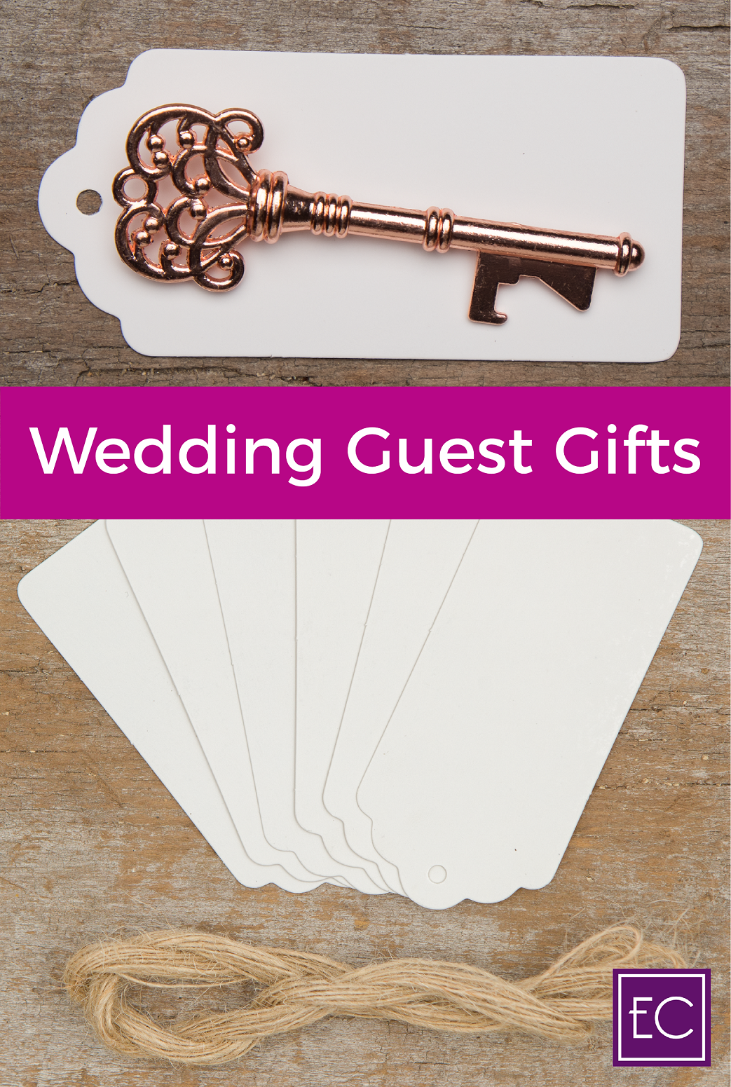 Use the blank gift tags of these wedding favors to (measuring 3.5 x ...