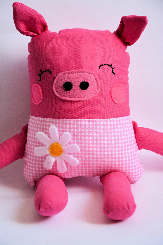 sweet pink pig - toy - www.paniniteczka.com
