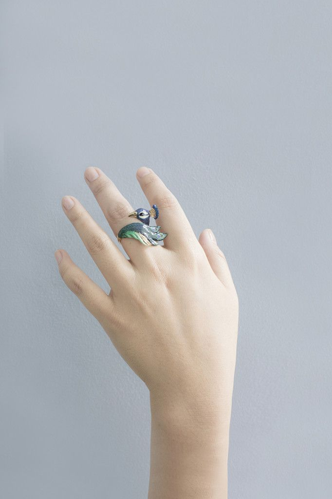 Peacock Ring by Good After Nine | Jewelry | Pinterest