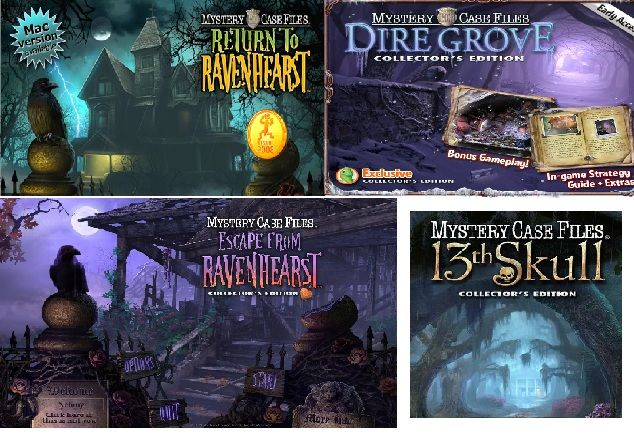 Last Four Games In Mystery Case Files Series To Date They Keep