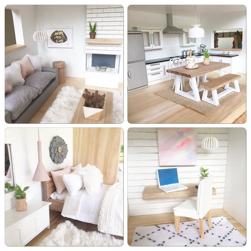 modern doll house furniture. Image Of Modern Dollhouse Pendants Doll House Furniture