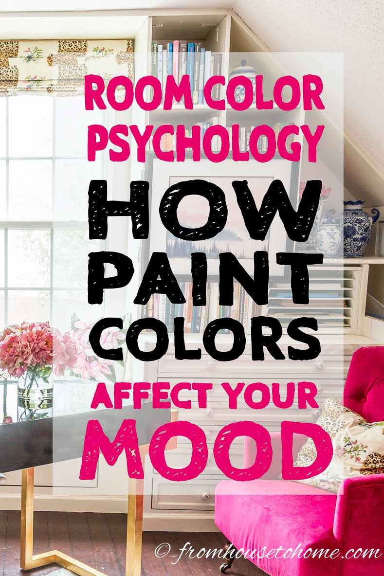 These tips on room color psychology are a great way to decide on the paint color