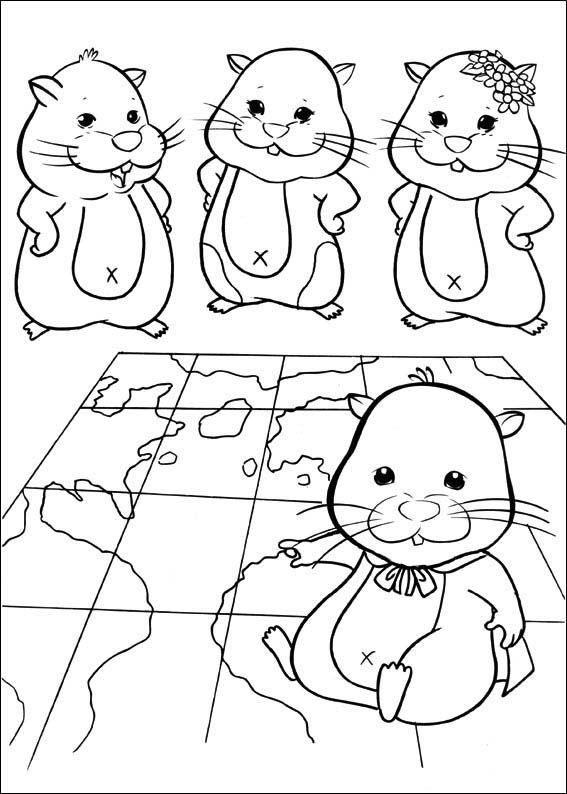 Zhu Zhu Pets Coloring Pages 19 Dibujos Dibujos Y Mascotas