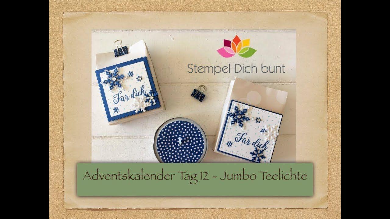 Petra Rosenbaum Stempel Dich Bunt Stampin Up Flockengestober Adventkalender Kleine Geschenke Adventskalender