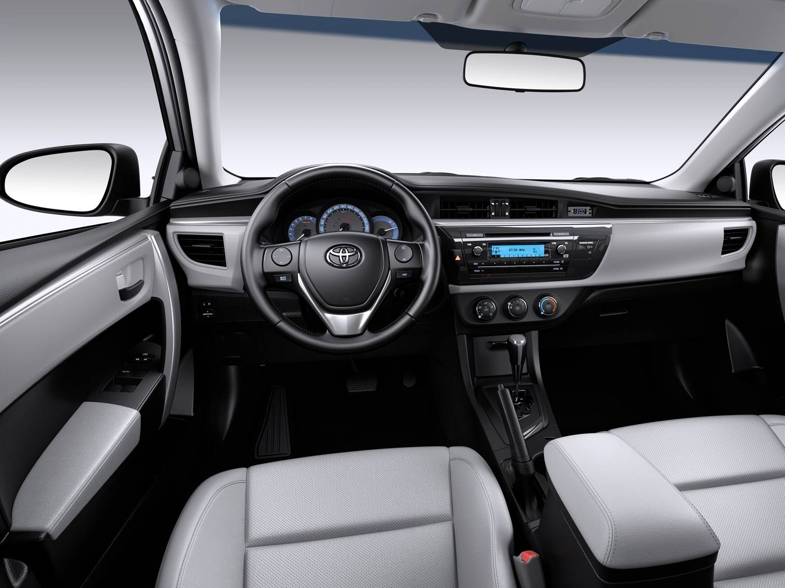 2017 toyota corolla interior dashboard toyota pinterest toyota corolla toyota and cars