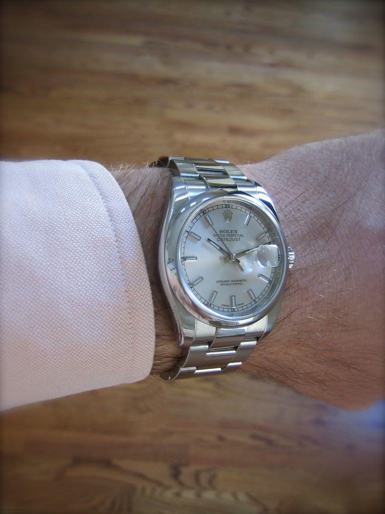 Rolex Datejust 116200 Question - Rolex Forums - Rolex ...