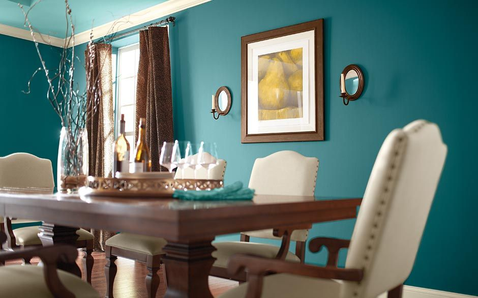 The Home Depot Crystal Luna Dining Room Paint ColorsWall