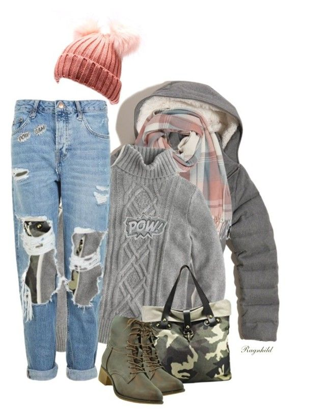 """Outfit of the Day"" by ragnh-mjos ❤ liked on Polyvore featuring Hollister Co., J.Crew, Topshop and Edge Only"