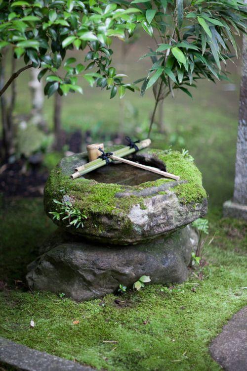 Ritual well temple japan by quit007 japan pinterest for Asia garten deko