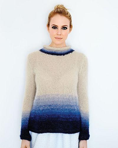 ef16c01b90be 24 Ombre Sweater pattern by Debbie Bliss